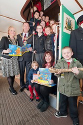 Makenzie Wright and pupils from Ryecroft School Rawmarsh celebrate world book day at Parkgate Shopping Rotherham with the help of the Mayor of Rotherham Cllr Shaun Wright JP,  Mayoress of Rotherham Mrs Lisa Wright and the childrens author Michaela Morgan with children of Ryecroft school..http://www.pauldaviddrabble.co.uk..1 March 2012 -  Image © Paul David Drabble
