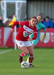 Ella Rutherford of Bristol City - Mandatory by-line: Paul Knight/JMP - 28/10/2018 - FOOTBALL - Stoke Gifford Stadium - Bristol, England - Bristol City Women v Arsenal Women - FA Women's Super League