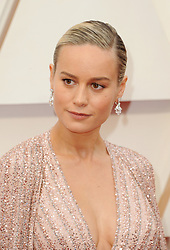 Brie Larson at the 92nd Academy Awards held at the Dolby Theatre in Hollywood, USA on February 9, 2020.