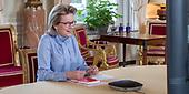 January 22, 2021 (BE): Dutch Kasteel van Laken Virtual Interview With Teachers On COVID-19