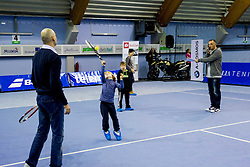 Luka Lopatic at Tennis exhibition day and Slovenian Tennis personality of the year 2013 annual awards presented by Slovene Tennis Association TZS, on December 21, 2013 in BTC City, TC Millenium, Ljubljana, Slovenia.  Photo by Vid Ponikvar / Sportida
