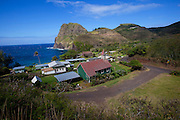 Kahakuloa village, Kahekili Highway, Maui, Hawaii