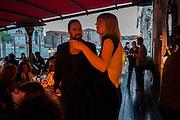 JONAS KLEERUP; FREIRE BARNES, Absolut Art Bureau cocktails and dinner to celebrate the announcement of the 2013 Absolut Art Award shortlist. Bauer Hotel, San Marco. Venice. Venice Bienalle. 28 May 2013