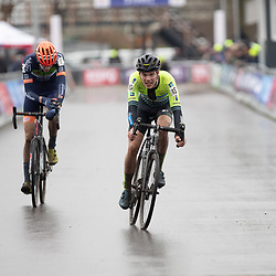12-01-2020: Wielrennen: NK Veldrijden: Rucphen<br />(15) Joppe de Heij