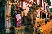 Durbar Square, Bhaktapur, Kathmandu Valley, Nepal