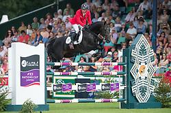 Dreher Hans Dieter (GER) - Embassy II<br /> Furusiyya FEI Nations Cup<br /> International Horse Show - Hickstead 2014<br /> © Hippo Foto - Jon Stroud