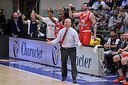 DESCRIZIONE : Beko Legabasket Serie A 2015- 2016 Playoff Quarti di Finale Gara3 Dinamo Banco di Sardegna Sassari - Grissin Bon Reggio Emilia<br /> GIOCATORE : Massimiliano Menetti Panchina<br /> CATEGORIA : Ritratto Esultanza Allenatore Coach<br /> SQUADRA : Grissin Bon Reggio Emilia<br /> EVENTO : Beko Legabasket Serie A 2015-2016 Playoff<br /> GARA : Quarti di Finale Gara3 Dinamo Banco di Sardegna Sassari - Grissin Bon Reggio Emilia<br /> DATA : 11/05/2016<br /> SPORT : Pallacanestro <br /> AUTORE : Agenzia Ciamillo-Castoria/L.Canu