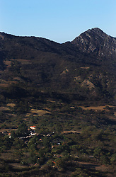 The image of Che Guevara stands for many things throughout Latin America, from a young traveler to an anti-U.S., anti-imperialist revolutionary. Che Guevara was captured in these hills and killed in the town of  La Higuera(pictured).  25 families now live in La Higuera which is more than 700km from La Paz and a grueling 30 hour journey over land.
