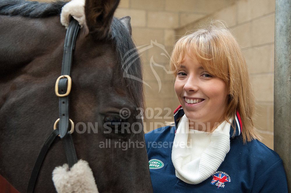 Sophie Wells (Grade IV) & Valerius - TeamGBR Para Dressage Team Training, Unicorn Trust, Gloucestershire - 22 February 2012