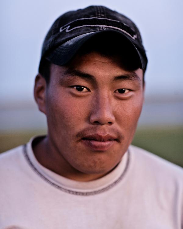 Portraits of Mongolian people