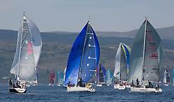 Silvers Marine Scottish Series 2017<br /> Tarbert Loch Fyne - Sailing<br /> <br /> IRC Class 3 downwind with IRL1484, Harmony, John Swan, Howth Yacht Club, Half Tonner, GBR8538R, Jack, Mr Peter Doig, East Antrim Boat Club, J92 and GBR9292C, Samurai J, Alan Macleod/A Knowles, Cove SC / CCC, J92<br /> <br /> Credit Marc Turner / PFM