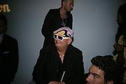 Kappauf ( Citizen K Magazine)  . Karl Largerfeld hosts the launch of Dom Perignon Vintage 1998. Skylight Studios. 275 Hudson St. New York. 2 June 2005. ONE TIME USE ONLY - DO NOT ARCHIVE  © Copyright Photograph by Dafydd Jones 66 Stockwell Park Rd. London SW9 0DA Tel 020 7733 0108 www.dafjones.com
