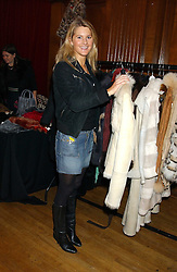 LADY KINVARA BALFOUR at Billion Dollar Babes - a sale of designer fashion held at The Porchester Hall, 45 Porchester Road, London W2 on 4th November 2005.<br />