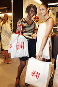 29 July 2010-New York, NY- Jolimeau and Esbeth Garcia shop at The H&M and Uptown Magazine Celebration of the grand re-opening of the H&M Harlem Store with a VIP preview with music, food and 25% off the evenings purchases held at H&M harlem on July 29, 2010 in Harlem, New York City. Photo Credit: Terrence Jennings