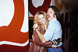 June 15, 1977 - Hollywood, California, U.S. - Rick Dees photographed in the studios of WHBQ in Memphis, TN in 1977..** NO ITALY  (Credit Image: © Armando Gallo via ZUMA Studio)