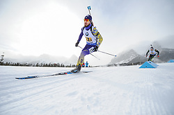 February 8, 2019 - Calgary, Alberta, Canada - LESIUK TARAS (UKR) during Men's Relay of 7 BMW IBU World Cup Biathlon 2018-2019. (Credit Image: © Russian Look via ZUMA Wire)