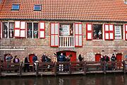 Historic city centre, Bruges, Belgium