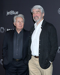 March 16, 2019 - Los Angeles, CA, USA - LOS ANGELES - MAR 16:  Martin Sheen, Sam Waterston at the PaleyFest - ''Grace and Frankie'' Event at the Dolby Theater on March 16, 2019 in Los Angeles, CA (Credit Image: © Kay Blake/ZUMA Wire)