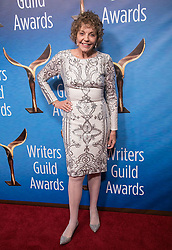 February 17, 2019 - Beverly Hills, California, U.S - Joan Meyerson in the red carpet of the 2019 Writers Guild Awards at the Beverly Hilton Hotel on Sunday February 17, 2019 in Beverly Hills, California. JAVIER ROJAS/PI (Credit Image: © Prensa Internacional via ZUMA Wire)