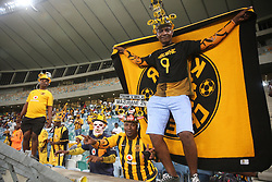 10032018 (Durban) Fans sing and dance when Kaizer Chiefs will look to advance to the next round of the Nedbank Cup top 16 when hosting Stellenbosch FC at the Moses Mabhida Stadium. Amakhosi went down 3-1 to arch-rivals Orlando Pirates in a tense Soweto derby match last weekend where they lost ground in their league title chase.Picture: Motshwari Mofokeng/African News Agency/ANA