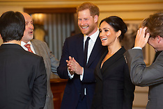 Prince Harry and Duchess Meghan at Hamilton - 29 Aug 2018