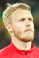 CLUJ-NAPOCA, ROMANIA, MARCH 26: Denmark's national soccer player Simon Kjaer pictured before the 2018 FIFA World Cup qualifier soccer game between Romania and Denmark, on March 26, at Cluj Arena Stadium, in Cluj-Napoca, Romania. (Photo by Mircea Rosca/Getty Images)