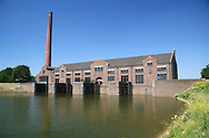 Ir.D.F. Wouda steam pumping station, Lemmer - Netherlands (Holland).<br /> In 1998 this monument was placed at the World Heritage List of UNESCO. See also  http://whc.unesco.org/sites/867.htm (and the Dutch site http://www.woudagemaal.nl).<br /> <br /> Ir.D.F. Wouda-stoomgemaal, Lemmer - Nederland.<br /> In 1998 is dit monument geplaatst op de Werelderfgoedlijst van UNESCO. <br /> <br /> © Meindert van Dijk<br /> Hires available!