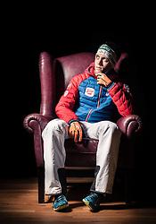 """21.10.2014, das kleine Berghotel, Riezlern, AUT, OESV, Nordische Kombinierer, Fotoshooting, im Bild Philipp Orter (AUT) // Philipp Orter of Austria during the Photoshooting of the Ski Austria Nordic Combined Team at """"das kleine Berghotel"""", Riezlern, Austria on 2014/10/21. EXPA Pictures © 2014, PhotoCredit: EXPA/ JFK"""