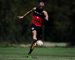 Aaron Wilbraham of Bristol City Shoots  - Photo mandatory by-line: Joe Meredith/JMP - Mobile: 07966 386802 - 17/07/2015 - SPORT - Football - Albufeira -  - Pre-Season Training