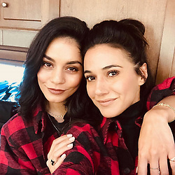 "Vanessa Hudgens releases a photo on Instagram with the following caption: ""Hey mister, she\u2019s my sister \ud83d\ude09\ud83d\ude1d @echriqui"". Photo Credit: Instagram *** No USA Distribution *** For Editorial Use Only *** Not to be Published in Books or Photo Books ***  Please note: Fees charged by the agency are for the agency's services only, and do not, nor are they intended to, convey to the user any ownership of Copyright or License in the material. The agency does not claim any ownership including but not limited to Copyright or License in the attached material. By publishing this material you expressly agree to indemnify and to hold the agency and its directors, shareholders and employees harmless from any loss, claims, damages, demands, expenses (including legal fees), or any causes of action or allegation against the agency arising out of or connected in any way with publication of the material."