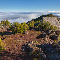 With an elevation of 1862 meter, Pico Ruivo is the highest Peak on Madeira.