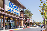 Shoppers at Ross Dress for Less at Santa Fe Trail Plaza in El Monte