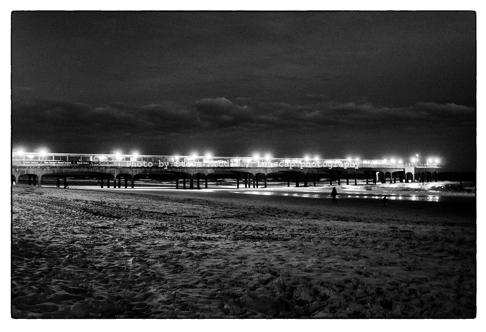 Boscombe Pier and Beach, Dorset, England - 20 October 2020