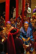 India, Vashisht near Manali, Kullu District, Himachal Pradesh, Northern India Krishna birthday celebration in the temple