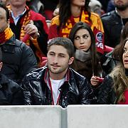 Galatasaray's Sabri SARIOGLU (C) during their Turkish superleague soccer derby match Galatasaray between Fenerbahce at the Turk Telekom Arena in Istanbul Turkey on Friday, 18 March 2011. Photo by TURKPIX
