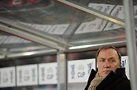 Fotball<br /> Tyskland<br /> Foto: Witters/Digitalsport<br /> NORWAY ONLY<br /> <br /> 26.02.2009<br /> <br /> Trainer Dick Advocaat Zenit<br /> UEFA-Cup VfB Stuttgart - Zenit St. Petersburg