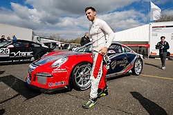 Dino Zamparelli | Bristol Sport Racing | #88 Porsche 911 GT3 Cup car | Porsche Carrera Cup GB | Race 3 - Photo mandatory by-line: Rogan Thomson/JMP - 07966 386802 - 04/04/2015 - SPORT - MOTORSPORT - Fawkham, England - Brands Hatch Circuit - British Touring Car Championship Meeting Day 2.