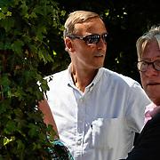 NLD/Amsterdam/20100603 - Huwelijk voetbaltrainer Frank Rijkaard en voormalig kindermeisje Stefanie Rucker, Johan Neeskens