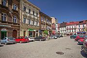 Ulica Stary Targ w Cieszynie, Polska<br /> Stary Targ Street in Cieszyn, Poland