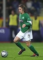 Fotball<br /> Bundesliga Tyskland 2004/2005<br /> Foto: Witters/Digitalsport<br /> NORWAY ONLY<br /> <br /> Patrick WEISER<br /> Fussballspieler VfL Wolfsburg