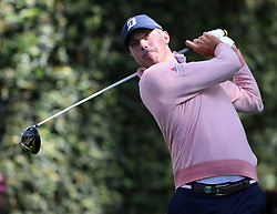 April 6, 2018 - Augusta, GA, USA - Matt Kuchar tee shot off of the second hole during the second round of the Masters at Augusta National Golf Club on Friday, April 6, 2018, in Augusta, Ga. (Credit Image: © Jason Getz/TNS via ZUMA Wire)