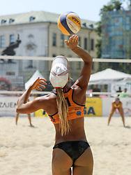 Nina Lovsin during Beach Volleyball Slovenian National Championship 2016, on July 23, 2016 in Kranj, Slovenia. Photo by Matic Klansek Velej / Sportida