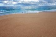 Peaceful Coastal Beach Scene