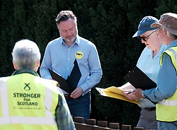 The SNP were campaigning in Livingston today ahead of the EU elections on 23rd May 2019.<br /> <br /> Alyn Smith MEP was joined by Hannah Bardell MP and volunteers going round talking to local households.<br /> <br /> Pictured: Alyn Smith MEP<br /> <br /> Alex Todd | Edinburgh Elite media