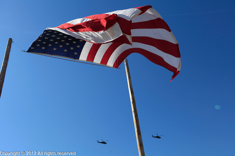 Kokomo Indiana Vietnam Veterans Reunion 2012Indiana Guard Blackhawks flyover Sunday
