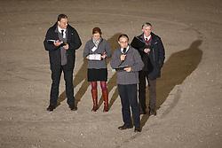 Jury BWP hengstenkeuring <br /> Inge Meurrens, Herman Bode, Stefaan De Smet, Leon Floren<br /> BWP Hengstenkeuring 2014<br /> Sentauer Park Opglabeek 2014<br /> © Dirk Caremans