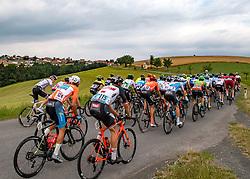 09.07.2019, Frohnleiten, AUT, Ö-Tour, Österreich Radrundfahrt, 3. Etappe, von Kirchschlag nach Frohnleiten (176,2 km), im Bild Das Peleton im Anstieg mit Patrick Gamper (AUT, Tirol KTM Cycling Team), bester Youngster // the peleton with Patrick Gamper of Austria (Tirol Cycling Team) best young rider during 3rd stage from Kirchschlag to Frohnleiten (176,2 km) of the 2019 Tour of Austria. Frohnleiten, Austria on 2019/07/09. EXPA Pictures © 2019, PhotoCredit: EXPA/ Reinhard Eisenbauer