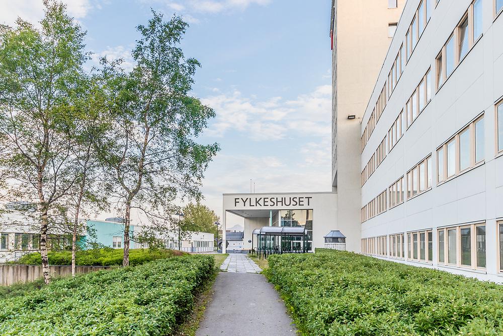 Fylkeshuset i Tromsø er Troms fylkes administrasjonssenter med kontorer for Troms fylkeskommune, Fylkesmannen i Troms og Statens vegvesen. Fylkeshuset ligger på Strandveien i Tromsø sentrum.