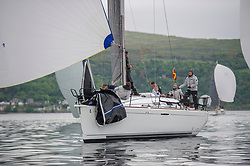 Day1 - Animal, First 36.7, 3627 L , CCC/RNCYC <br /> <br /> The Scottish Series, hosted by the Clyde Cruising Club is an annual series of races for sailing yachts held each spring. Normally held in Loch Fyne the event moved to three Clyde locations due to current restrictions. <br /> <br /> Light winds did not deter the racing taking place at East Patch, Inverkip and off Largs over the bank holiday weekend 28-30 May. <br /> <br /> Image Credit : Marc Turner / CCC
