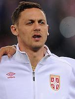 2016.03.23 Poznan<br /> Pilka Nozna Reprezentacja Mecz towarzyski<br /> Polska - Serbia<br /> N/z Nemanja Matic<br /> Foto Rafal Rusek / PressFocus<br /> <br /> 2016.03.23 Poznan<br /> Football Friendly Game<br /> Poland - Serbia<br /> Nemanja Matic<br /> Credit: Rafal Rusek / PressFocus